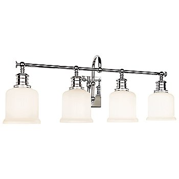 Shown in Polished Chrome finish, 4 Light