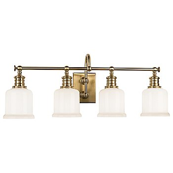 Shown in Aged Bronze finish, 4 Light