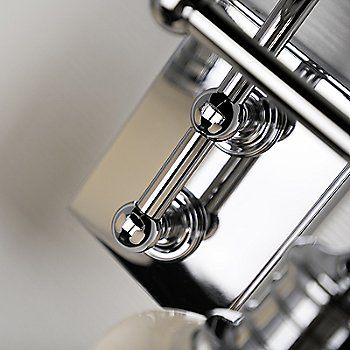 Shown in Polished Chrome finish