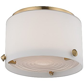 Shown in Satin Brass, Small size