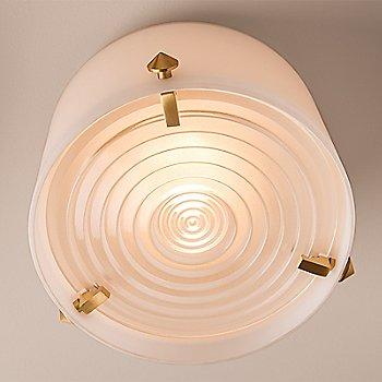 Satin Brass finish / lluminated