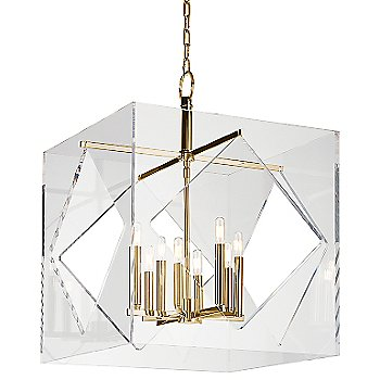 Shown in Aged Brass finish, Extra Large size