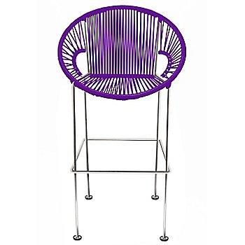 Purple / Chrome frame