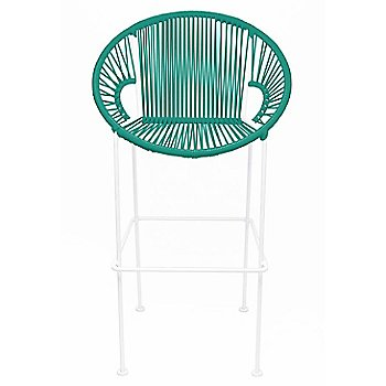 Turquoise / White frame