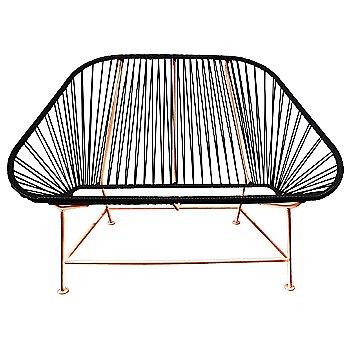 Black / Copper frame