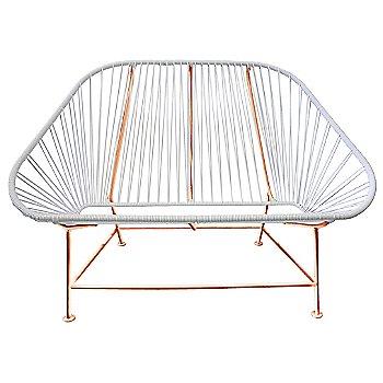 White / Copper frame
