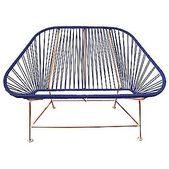 Deep Blue / Copper frame