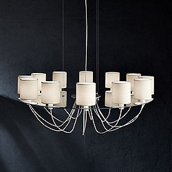 Silhouette SO 12 Light Chandelier