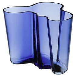 Aalto Vase 6.25-In. Ultramarine
