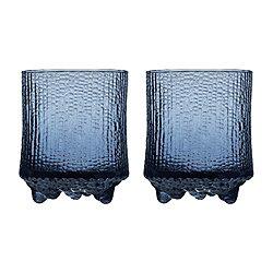 Ultima Thule Set of 2 Old Fashioned Glasses - Rain