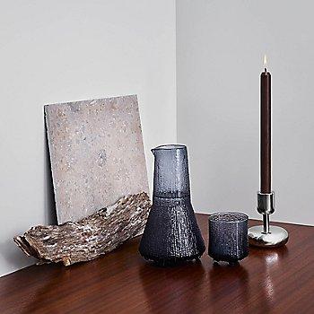 Ultima Thule Old Fashioned Glass with Nappula Pillar Candleholder and Ultima Thule 3 Pc Set - Rain