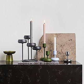 Nappula Pillar Candleholder with Nappula Candleholder, Nappula Candelabra 10.25 inch