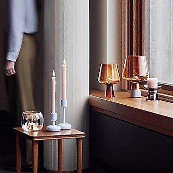 Nappula Pillar Candleholder with Nappula Candleholder