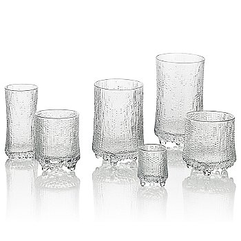 Ultima Thule Set of 2 Cordial Glasses with Ultima Thule Set of 2 Champagne Glasses - Wirkkala Anniversar
