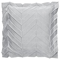 Iittala X Issey Miyake Light Grey Zigzag Cushion Cover 20""