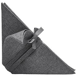 Iittala X Issey Miyake Napkin (Dark Grey) - OPEN BOX RETURN
