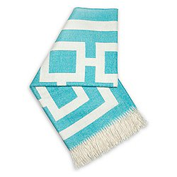 Nixon Alpaca Throw Blue