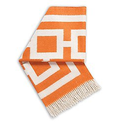 Nixon Alpaca Throw Orange