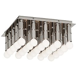 Meurice Flush Mount Ceiling Light (Polished Nickel) - OPEN BOX RETURN