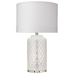 White Diamond Table Lamp