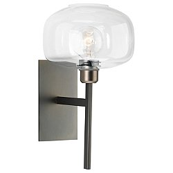 Scando Mod Wall Sconce (Gun Metal) - OPEN BOX RETURN