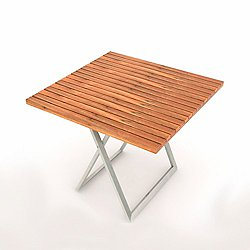 JAZZ Square Table with Folding Base