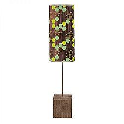 Hex Cuboid Table Lamp