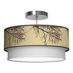 Branch Double Tiered Pendant Light
