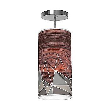 Facet Column Pendant Light