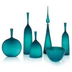 Azure Decanter & Angelic Bottle Set