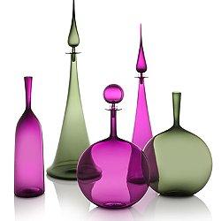 Tourmaline & Ultraviolet Vessel Set