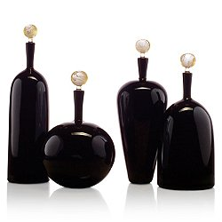 Carmella Barware Set, Black