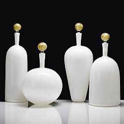Carmella Barware Set, Ivory