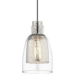 Evie 43625 1 Light Mini Pendant Light
