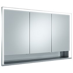 Royal Lumos Recessed Triple Mirrored Cabinet