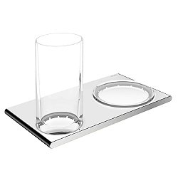 Edition 400 Tumbler Holder with Soap Dish - OPEN BOX RETURN