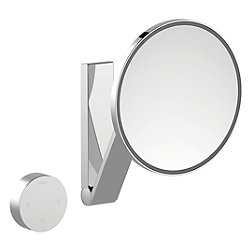 iLook_Move Cosmetic Round Mirror with Concealed Cable