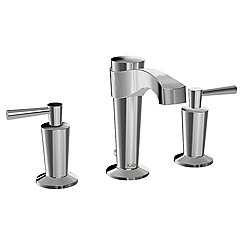 Bellino Widespread Lavatory Faucet With Pop-Up Waste and Horizon Handles