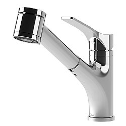 Deka Surfer Pull-Out Kitchen Faucet