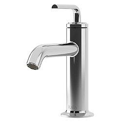 Cite Single Hole Lavatory Faucet with Push Drain