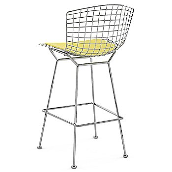 Shown in Vinyl Sunflower with Polished Chrome finish, Bar Height