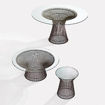 ... Planter Coffee Table / Platner Side Table And Platner Dining Table ...