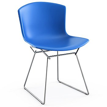 Shown in Blue with Polished Chrome Base Finish