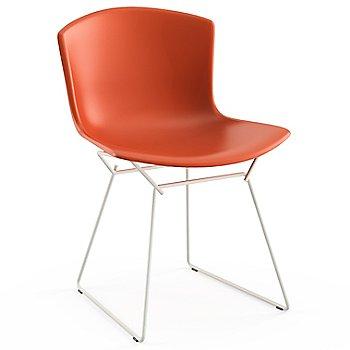Shown in Orange Red with White Powder Coat Base Finish