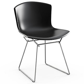 Shown in Black with Polished Chrome Base Finish