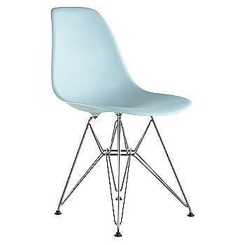 Aqua Sky seat color with Wire Base/Trivalent Chrome