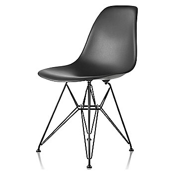 Black seat color with Wire Base/Black