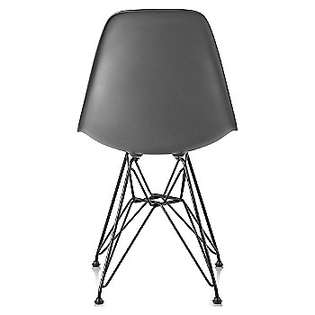 Charcoal seat color with Wire Base/Black