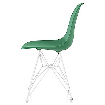 Kelly Green seat color with Wire Base/White