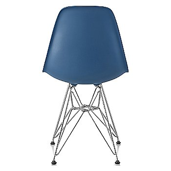 Peacock Blue seat color with Wire Base/Trivalent Chrome